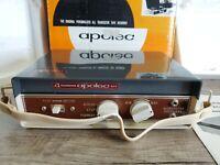 Vintage Apolec Apollo Industries Mini Reel Tape Recorder Portable RARE