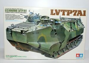 Tamiya US Marine LVTP7A1 Landing Vehicle 1/35 Scale Plastic Model Kit 35136 New