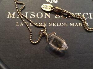 * Seltene Kette von Maison Scotch * Kristall *