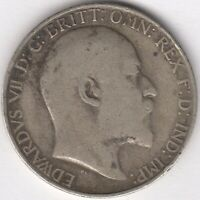 1905 Edward VII Silver Florin/Two Shillings | Key Date | Pennies2Pounds