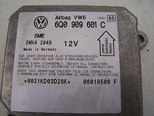 SKODA Fabia (1999-2004) Airbag Ecu 6Q0 909 601 C