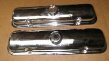 ★★1973-75 TRANS AM SUPER DUTY 455 ORIGINAL DRIPPER CHROME VALVE COVERS 490027★★