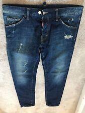 Dsquared Jeans Men size 50 ultra rare authentic MOD. S74LA0447 superb denim