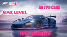 🏁Forza Horizon4 Modded Account  AllPO Cars  20,000 Spins + Max CR + HotWheels🎇