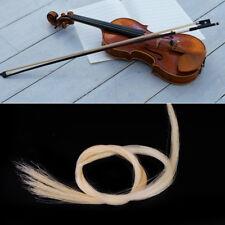 2x Bogenhaare 83cm Rosshaar Bow Hair Haar für Geigen Violin Viola Cello  Erhu