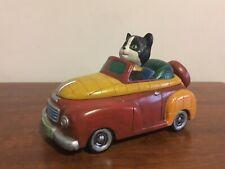 Vintage Vandor Cat in Car Box