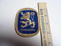 """Lowenbrau Beer Patch 2 3/4"""" X 3 1/2"""""""