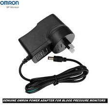 Genuine Omron BP Blood Pressure monitor AC Adapter Power Charger 100 % Original