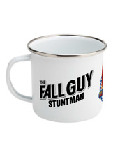 The Fall Guy - Stuntman & Bounty Hunter Retro Enamel Printed Mug