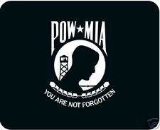 POW / MIA Mouse Pad - Free Personalizing --Benefits Charity.