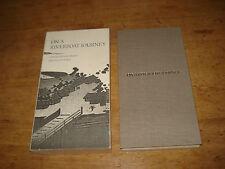 On a River Boat Journey Ito Jakuchu/ Daiten,1ST EDITION THUS 1989 H/B/ SLIPCASE