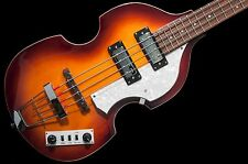 Hofner Ignition Series Violin Beatle Bass Cavern Spacing Sunburst w/ case