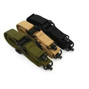For MS4 DUAL QD Multi-Mission Two Point Sling MAG518 Black Coyote Gray Green