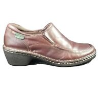 Eastland Womens Shoes Loafer Gina Brown Leather Size 7.5 Slip On Shoes 3682-02