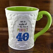 Grasslands Road On a Scale of 1-10 I'm a PERFECT 40 Coffee Mug ~ 40th Birthday