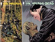 THE WALKING DEAD #155 156 NEGAN MAJOR CHARACTER DEATH 1ST PRINTS IMAGE COMICS!