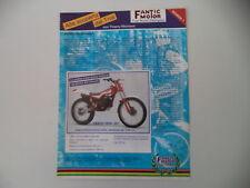 advertising Pubblicità 1986 MOTO FANTIC TRIAL 301