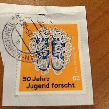 Briefmarke - BRD 2015 - 50 Jahre Jugend forscht - 62 Cent - gestempelt - NK 3160