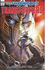 HYDROBOT & THE TRANSFORMERS 1 IDW RARE GIVEAWAY PROMO SCHICK COUPON FrEE RAZOR