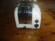 Dualit Vario 2-slice classic toaster cream EXCELLENT - WITH EXTRAS