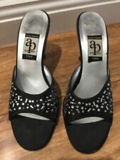 Silk Formal Open Toe Shoes for Women