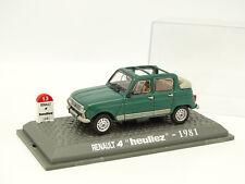 UH Presse 1/43 - Renault 4 4L Heuliez 1981
