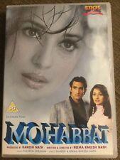 Mohabbat - *Akshaye Khanna *Madhuri Dixit *Sanjay Kapoor Bollywood DVD