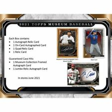 2021 Topps Museum Collection Baseball Hobby Box (Presell) June Release