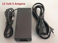 12 Volt 5 Ampere Netzstecker Spannungswandler Trafo 5,5 mm 2,5 mm