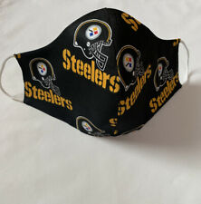 Pittsburgh Steelers Face Mask  Double Layer Cotton