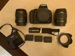 Canon EOS 1300D DSLR Camera - 18-55mm & 28-90mm Lens