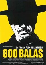 800 BALAS/ Bullets DVD Alex de la Iglesia Carmen Maura Spanish w English Subtitl