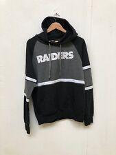 Oakland Raiders NFL Club Hoodie - Medium - Black/Grey - New