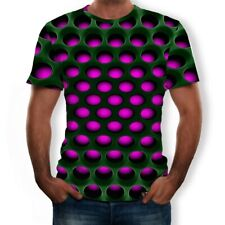 Funny Hypnosis 3D T-Shirt Men Women Graphic Casual Fashion Short Sleeve Tee CA