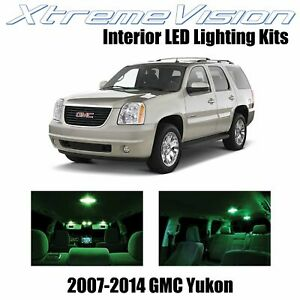 XtremeVision Interior LED for GMC Yukon 2007 - 2014 (12 PCS) Green