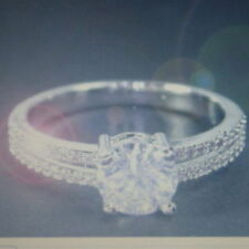 Unbranded White Gold Anniversary Fine Diamond Rings
