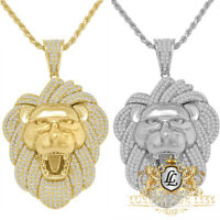 Details about  /14K Yellow Gold Sterling Silver Simulated Diamond Skull Brain Pain Pendent Charm
