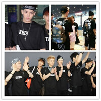EXO XOXO WOLF 88 LAY DO CHEN KAI TAO KRIS CHANYEOL SUHO SEHUN LUHAN KPOP T-SHIRT