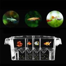 Floating Aquarium Fish Breeding Tanks Breeder Box Fry Trap Hatchery Nursery