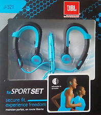 Headphone Sport Set J321 Earphones High Quality Audio Bass with mic