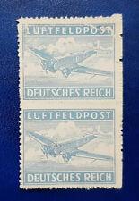 Germany Stamp Deutsches Reich Luftfeldpost 1942 Block of 2 Mi. Nr. 1 (16724)