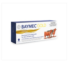 Bayer Baymec Gold Injection 500mls | Worm Control Flukeicide for Cattle