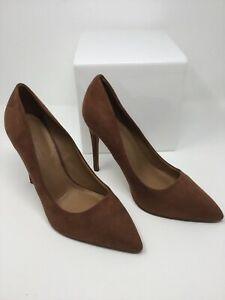 ASOS DESIGN Women's Shoe Size 7 Mocha Paris Pointed Toe High Heel Pumps