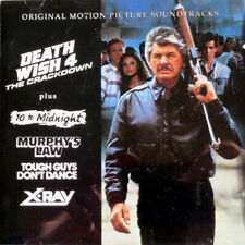 Death Wish 4 + 4 Other Scores  - Soundtrack/Score CD ( LIKE NEW )