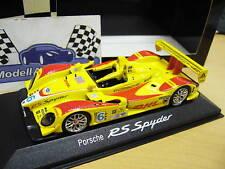 PORSCHE RS Spyder  #6 DHL LMP2 LMP 2 RAR Minichamps Porsche 1:43