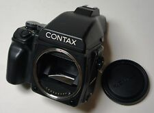 CONTAX 645 Camera Body New Shutter MF-1 AE Prism Viewfinder for digital back