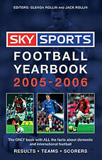 Sky Sports Football Yearbook 2005-2006 - 36th Hardback Edition - Rothmans book