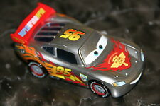 "DISNEY PIXAR CARS 2 ""MCQUEEN W/ METALLIC FINISH"" KMART SILVER RACER SERIES"