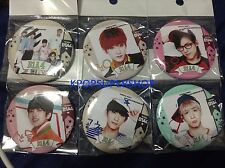 B1A4 6 Button Set New Sealed All 5 Members and Group Ignition Baba K-POP KPOP