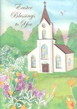 PAPYRUS EASTER CARD NIP (MRP $7.95) CHURCH CARD (O9)